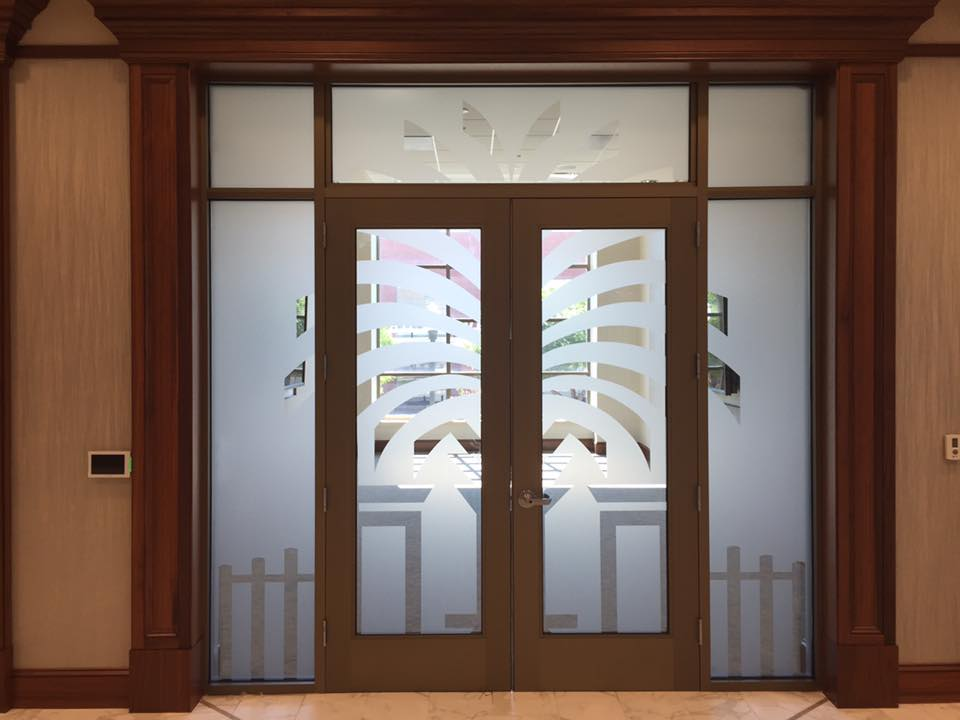 Decorative Glass Film Columbia SC