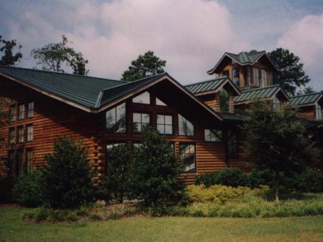 log home window tint Columbia SC