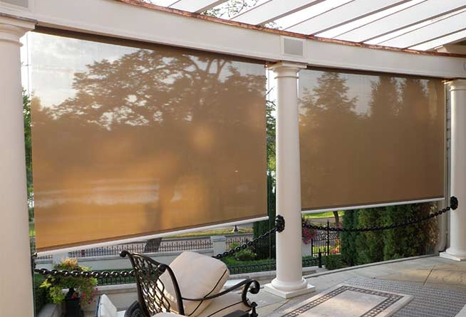 Sunroll Exterior Roller Shades South Carolina