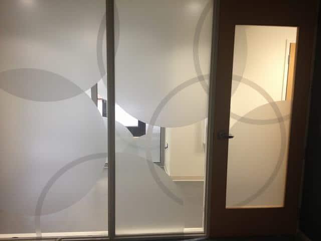 Decorative Window Film Aiken Tech 1