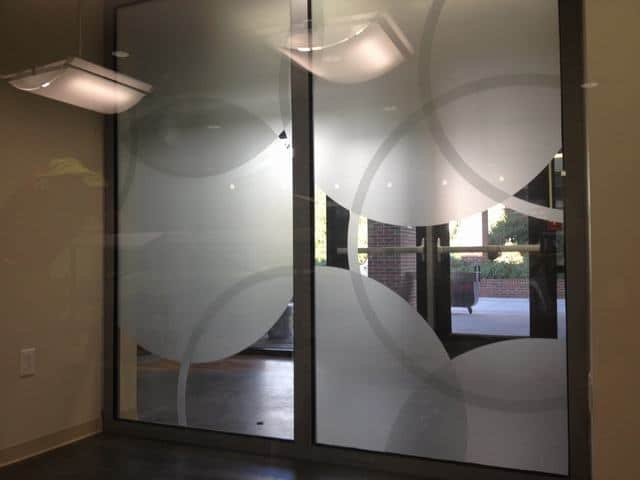 Decorative Window Film Aiken Tech 2